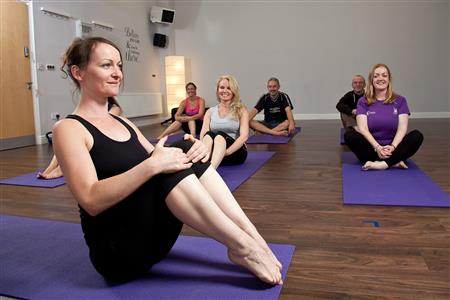 Dynamic Flow Yoga Barefoot Yoga Studio